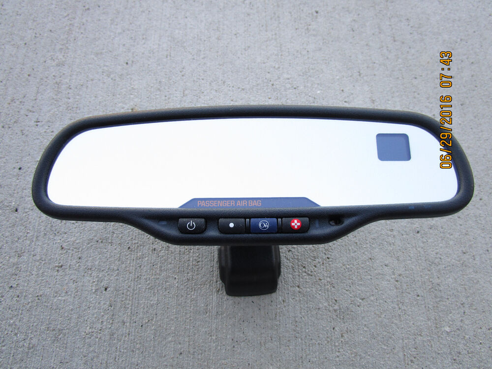 Gmc Rear View Mirror Wiring