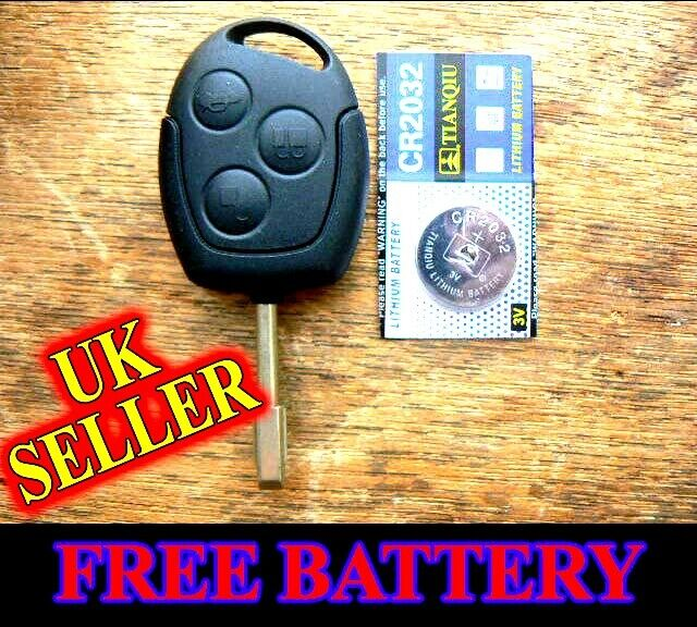 ford mondeo fiesta puma focus remote fob key case with. Black Bedroom Furniture Sets. Home Design Ideas