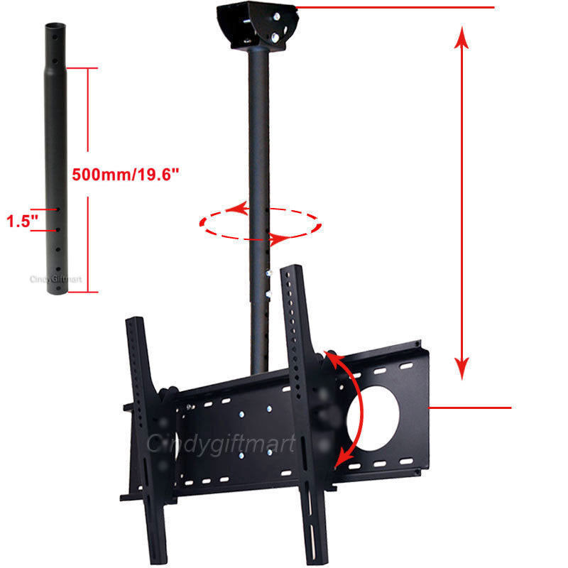 ceiling tv mount tilt bracket 39 40 42 46 50 55 60 led. Black Bedroom Furniture Sets. Home Design Ideas
