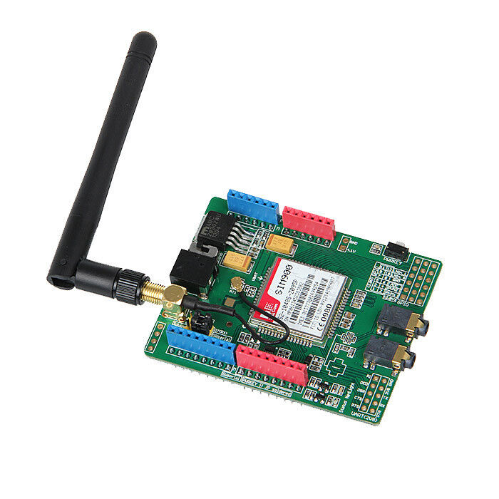 Geeetech new sim quad band gsm gprs shield sms mms