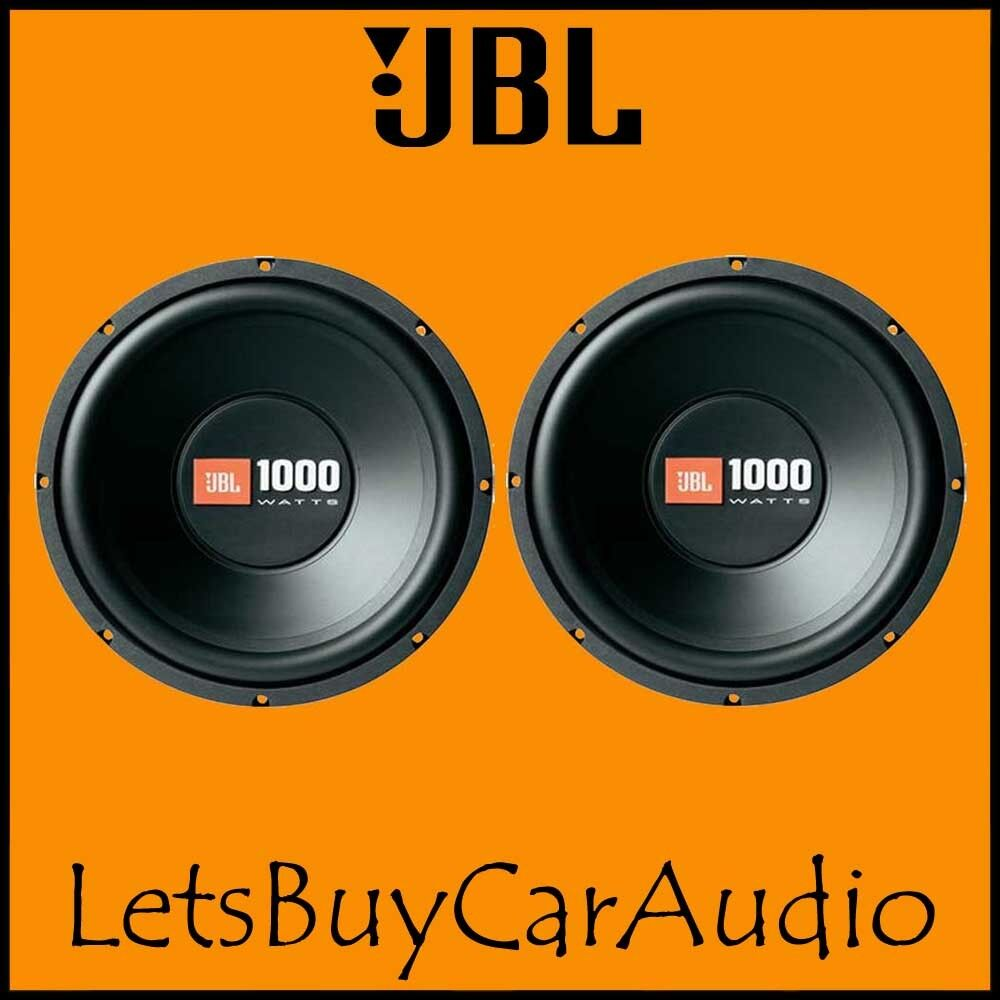 jbl cs1214 12 1000 watt car subwoofer double deal ebay. Black Bedroom Furniture Sets. Home Design Ideas