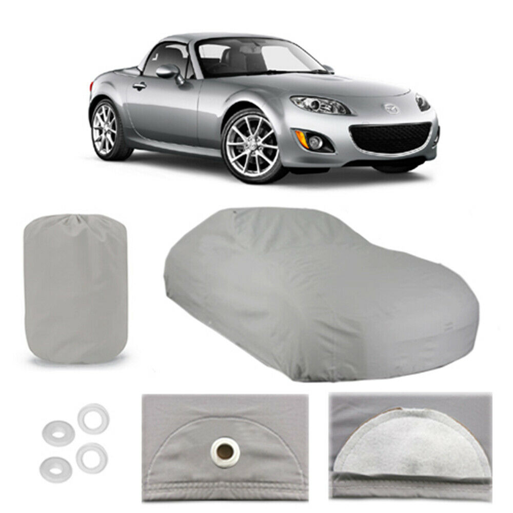 mazda mx 5 miata 5 layer car cover fitted outdoor water proof rain snow sun dust ebay. Black Bedroom Furniture Sets. Home Design Ideas