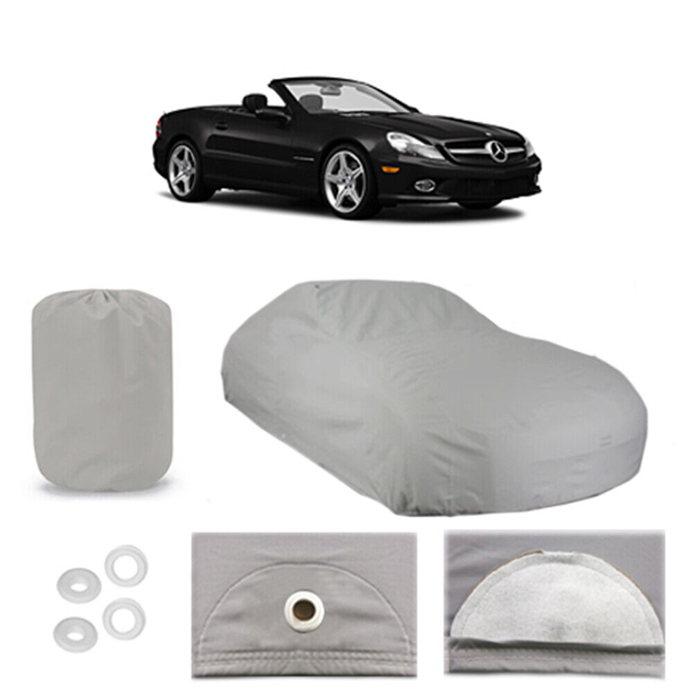 Mercedes benz sl550 4 layer car cover fit outdoor water for Mercedes benz car covers