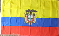 Ecuadorian Flag 5x3 Football Sports Tourism 5x3 Business Politics Assange bnip