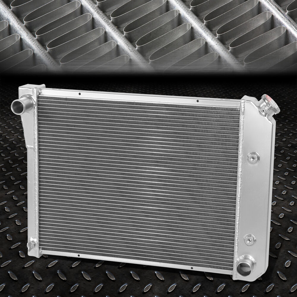 3 Row Tri Core Aluminum Racing Radiator 71 88 Chevy Small