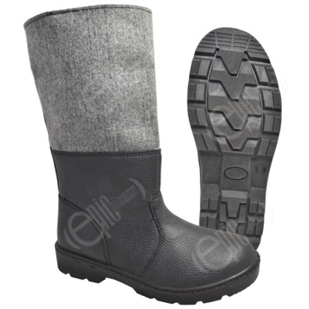 img-German Army Style Cold Weather Winter Boots - Leather Snow Extreme EVA Insoles