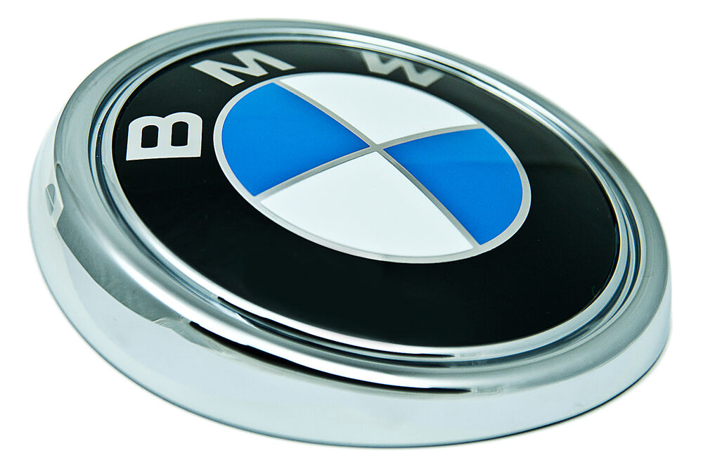 Bmw Genuine Logo Roundel Rear Boot Trunk Badge Emblem E70
