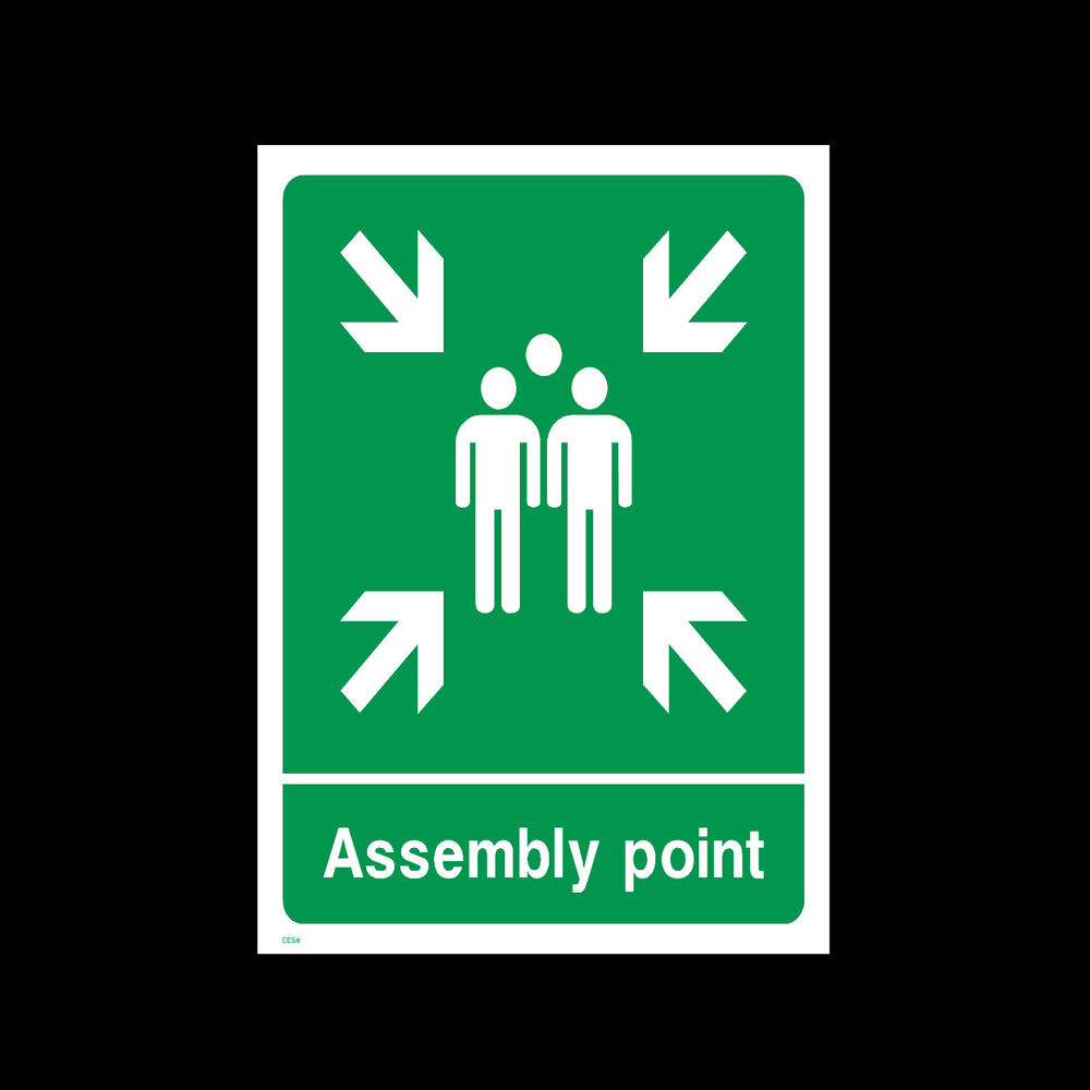 Fire Assembly Point Signs Amp Stickers All Sizes All