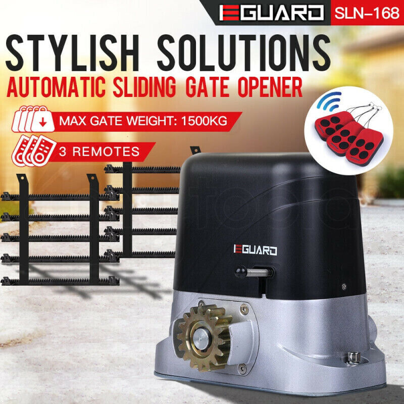 Simtech 1800kg Sliding Electric Gate Opener Auto Motor