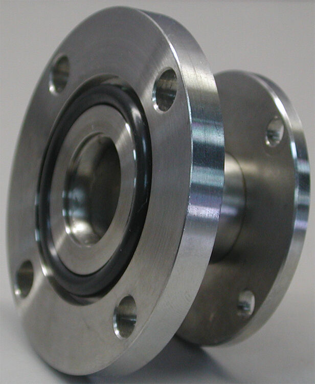 Stainless steel cf asa flange adapter o ring groove