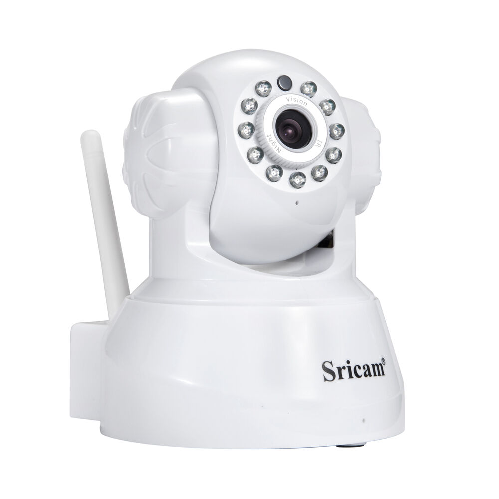 Authentic Sricam Wireless IP Camera Wifi Security Spy IR ...