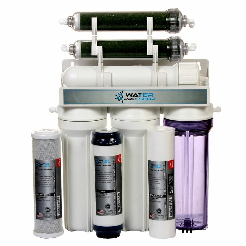 6 stage aquarium reef reverse osmosis water filtration for Fish filtration system