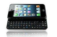 NEW  SPECIALIZED  WIRELESS  BLUETOOTH  SLIDING  QWERTY  KEYBOARD   iPHONE 5
