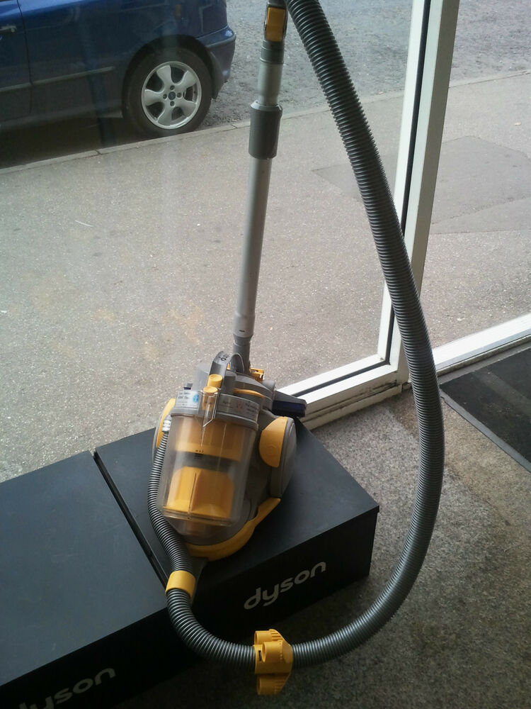Dyson Dc05 Silver And Yellow Bagless Cyclonic Cylinder