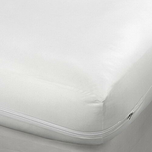 KING SIZE FABRIC ZIPPERED MATTRESS COVER BED BUG
