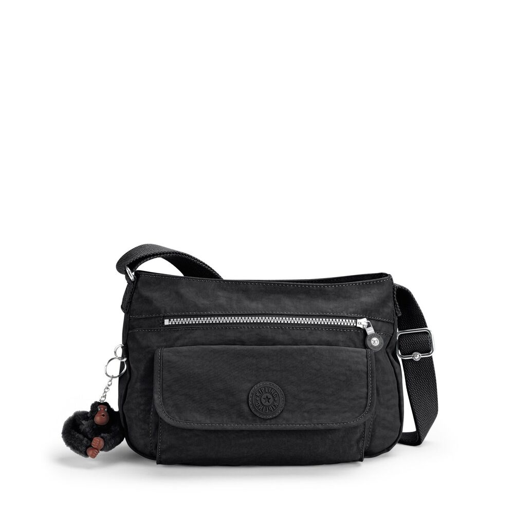 Kipling Syro Shoulder Bag Black 72