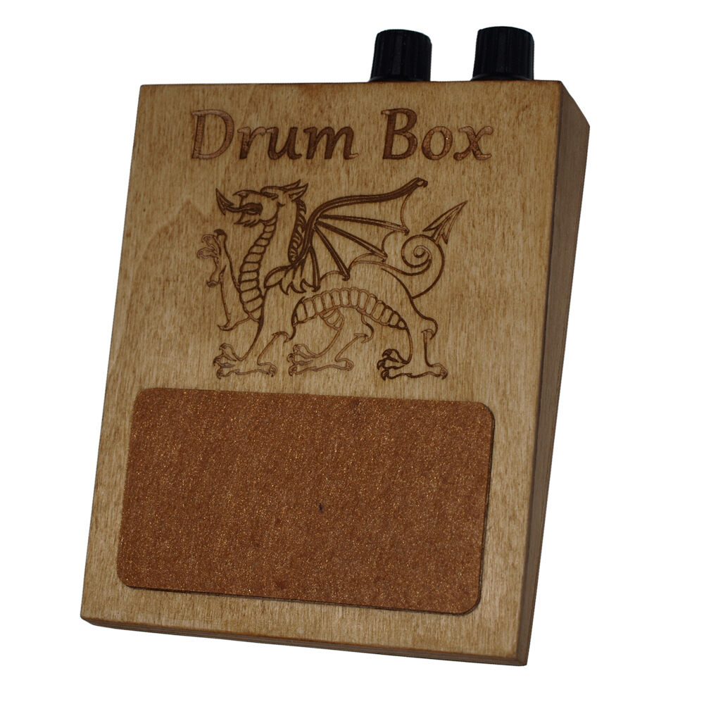 volume and tone control stompbox rhythm foot drum stomp box cigar box guitar ebay. Black Bedroom Furniture Sets. Home Design Ideas
