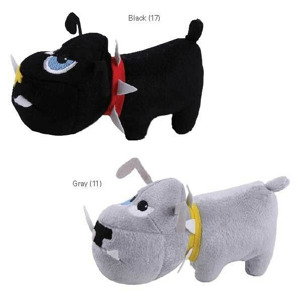 Zanies tough dog puppy rough plush 75quot dog toy 2pk ebay for Really tough dog toys