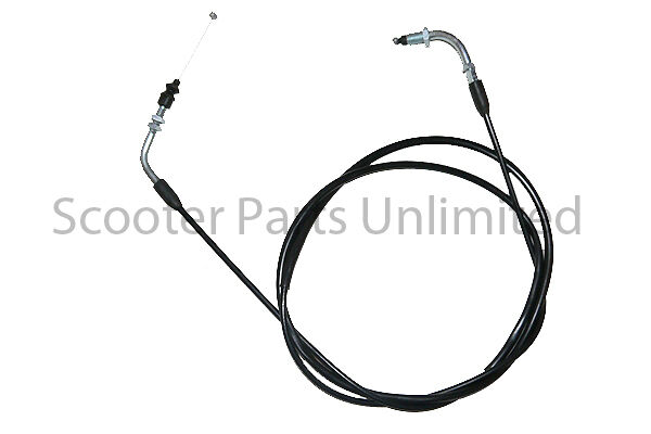gas gy6 scooter moped 50cc throttle cable 76 u0026quot  parts jonway taotao nst roketa