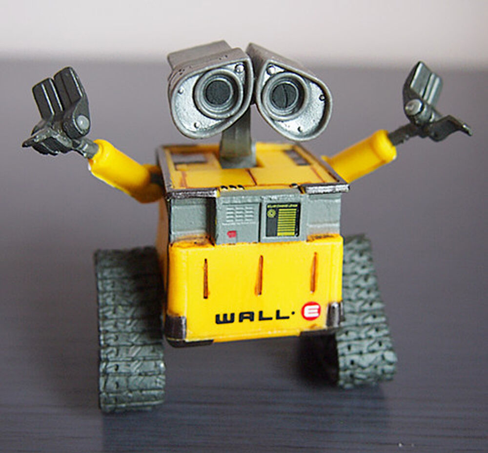 Wall E Toys : Disney pixar thinkway toys wall e cm action figure new