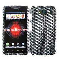 Phone Cover for Motorola Droid Razr HD XT926 Hard Case Eyes on Black Faceplate