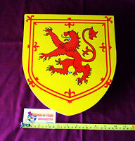 Wooden Toy Knight's Shield - Red Lion Rampant