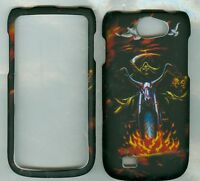 king skull T-mobile Samsung Exhibit II 4G T679 cover case protector hard cases