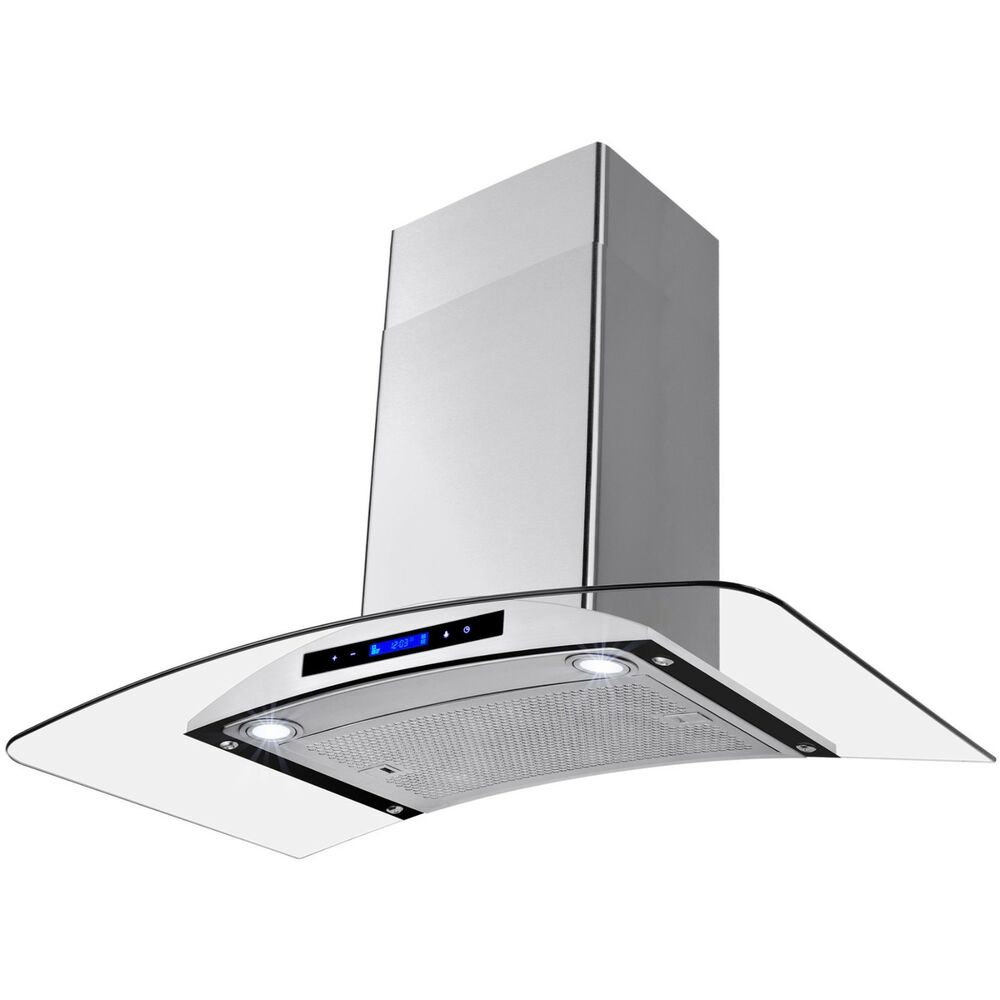 Stove Hood Fans Exhaust Fan Kitchen Wall Mount Stainless