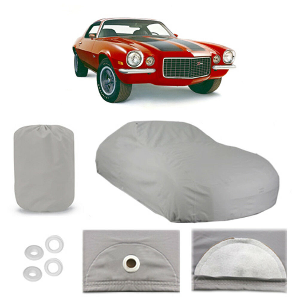 chevy camaro 5 layer car cover outdoor water proof rain snow sun dust 2nd gen ebay. Black Bedroom Furniture Sets. Home Design Ideas