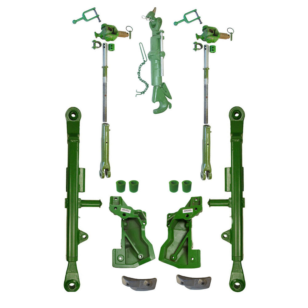 3 Point Stabilizer Arms : John deere new oem style point hitch kit lift