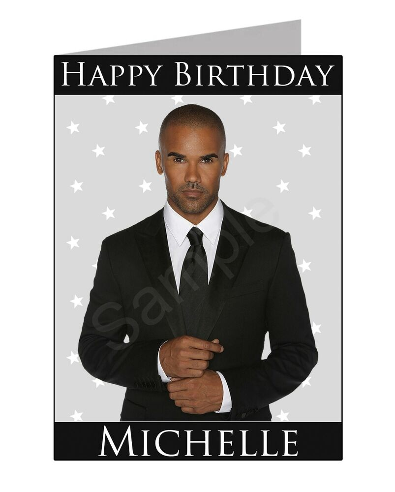 Shemar Moore Personalised Birthday Card Pgs2100gc Free Uk Postage