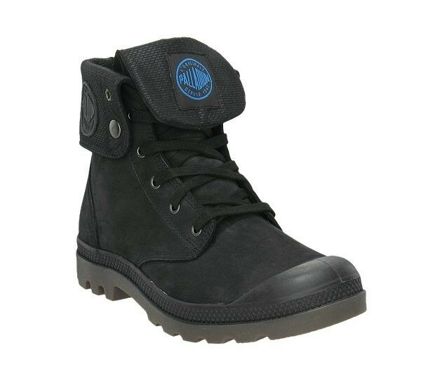 s palladium boots waterproof baggy gusset black nubuck