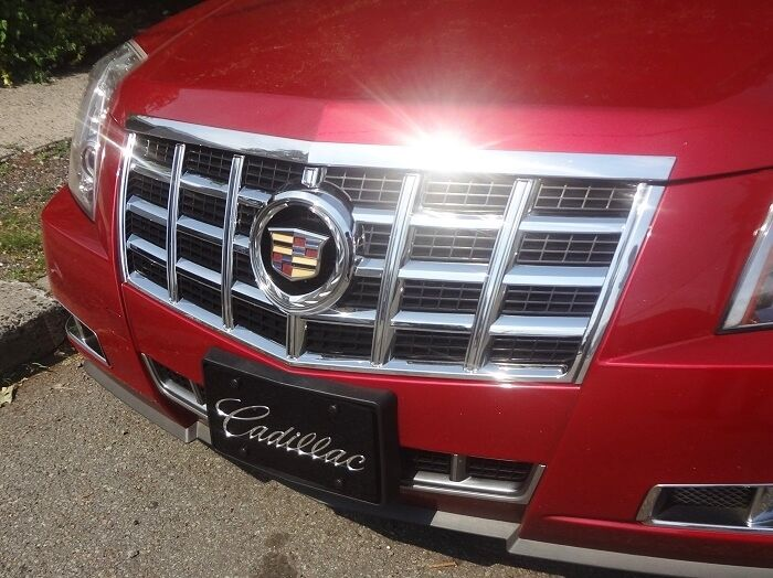 New Item Cadillac Cts 2012 2013 Chrome Upper Grille