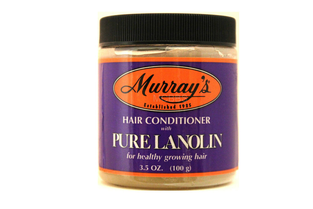 MURRAY'S HAIR CONDITIONER WITH PURE LANOLIN 3.5 OZ.