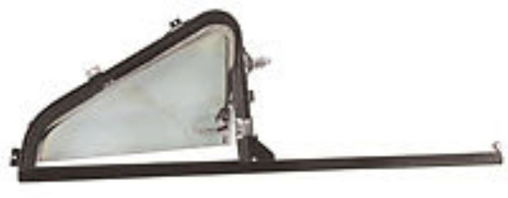 vent window asmbly w   glass chrome lh 1951 1952 1953 1954