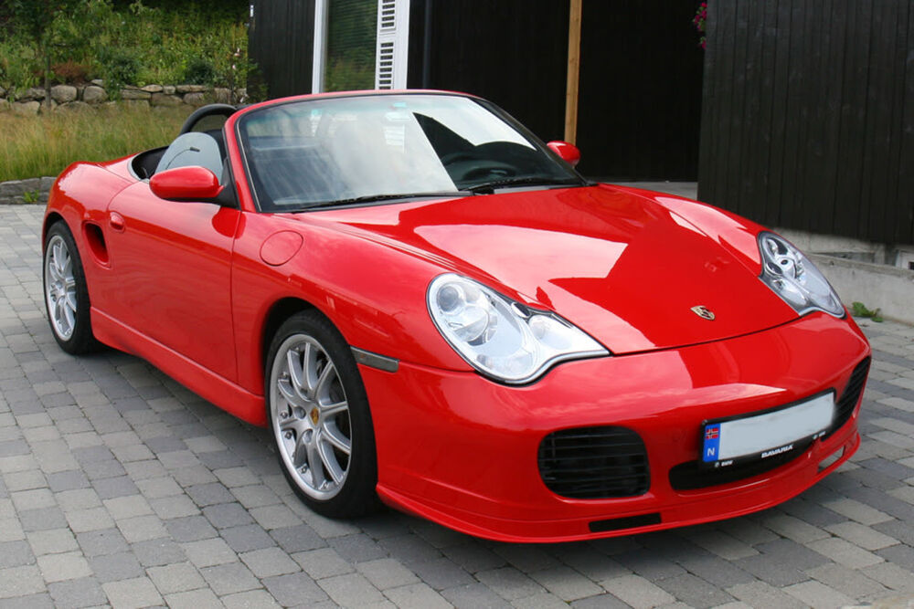 Porsche 986 Boxster 996 To 996 Turbo Mk2 Conversion