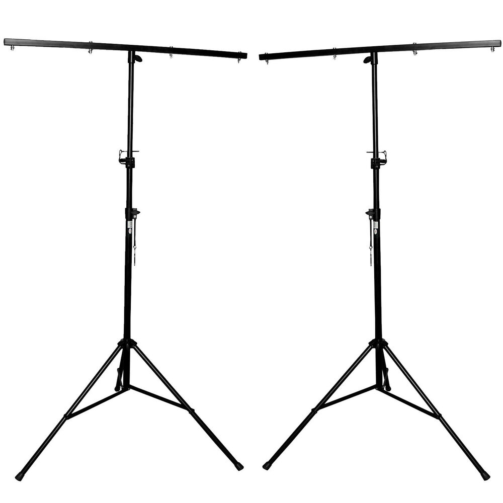 2x american 9ft lighting light pro dj stage club truss tripod t bar stand t ls03 ebay. Black Bedroom Furniture Sets. Home Design Ideas