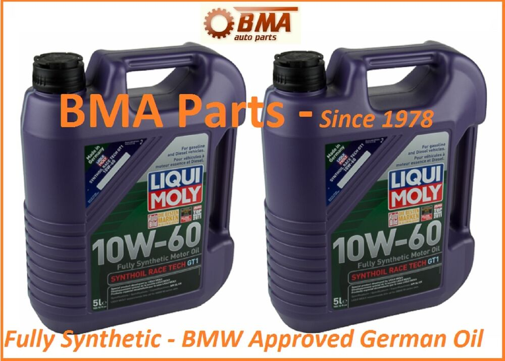 liqui moly race tech gt 1 10w 60 synthetic motoroil. Black Bedroom Furniture Sets. Home Design Ideas