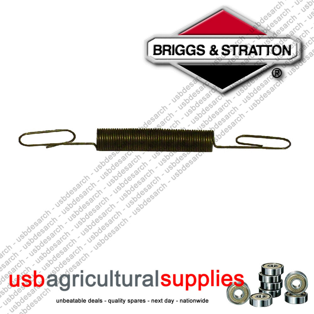 Briggs stratton governor spring hook up