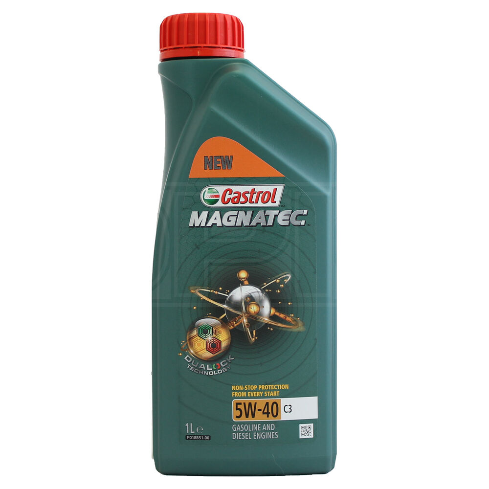 Castrol Magnatec 5w 40 C3 Fully Synthetic Engine Oil 5w40