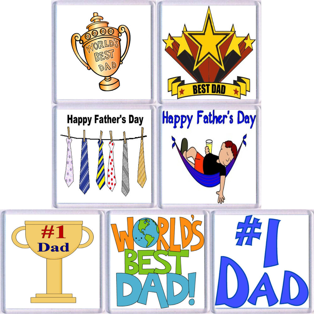 Fun Fathers Day Drinks Coaster Choice Of 7 Styles Ebay