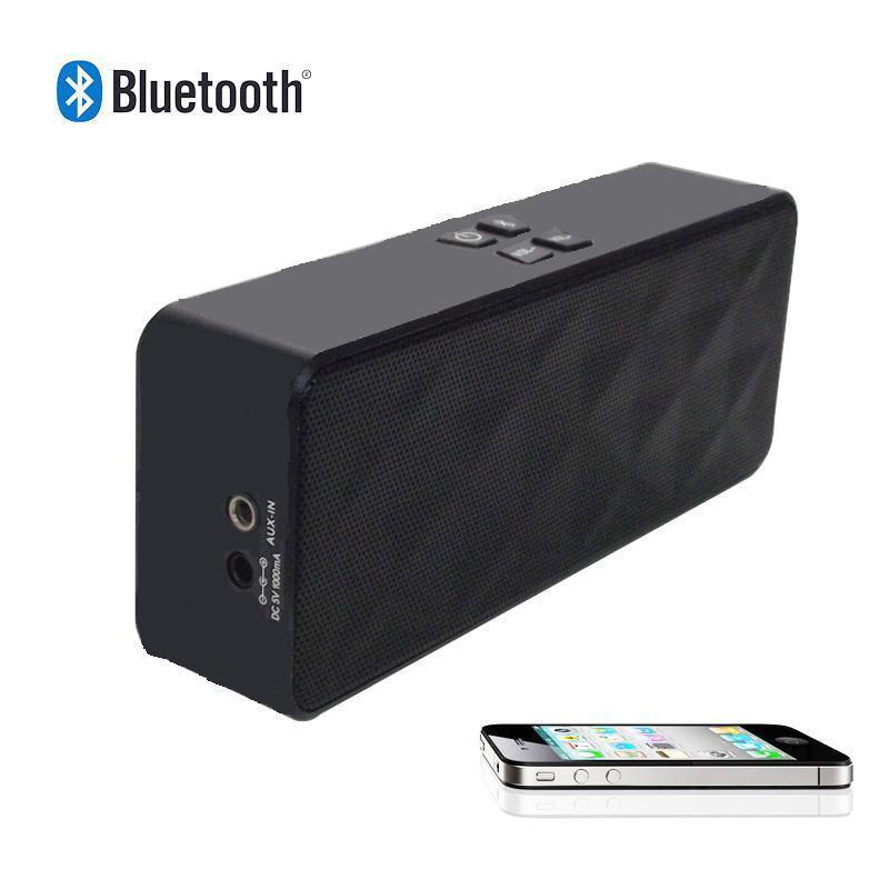 Portable Wireless Bluetooth Stereo Sound Speaker Iphone 4