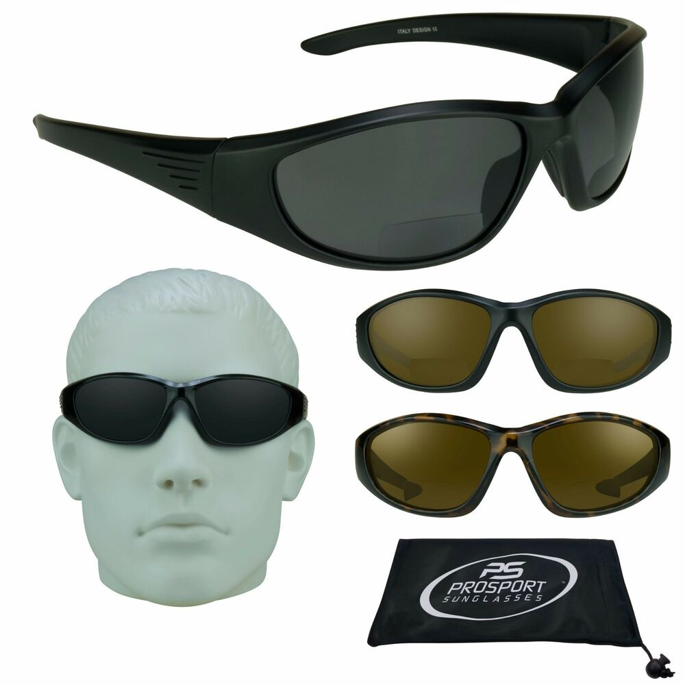 b76a3853f1 Details about BIFOCAL Sun Reader POLARIZED Fishing Reading Sunglasses  Sports 1.5 2.0 2.5 3.00
