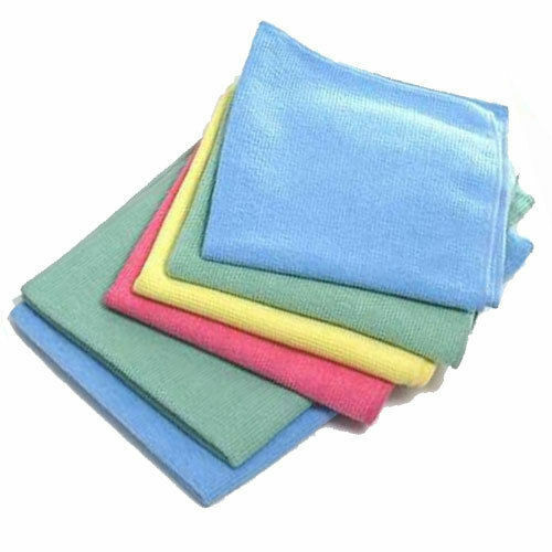 12 microfibre lint free cloths valeting polishing ebay. Black Bedroom Furniture Sets. Home Design Ideas
