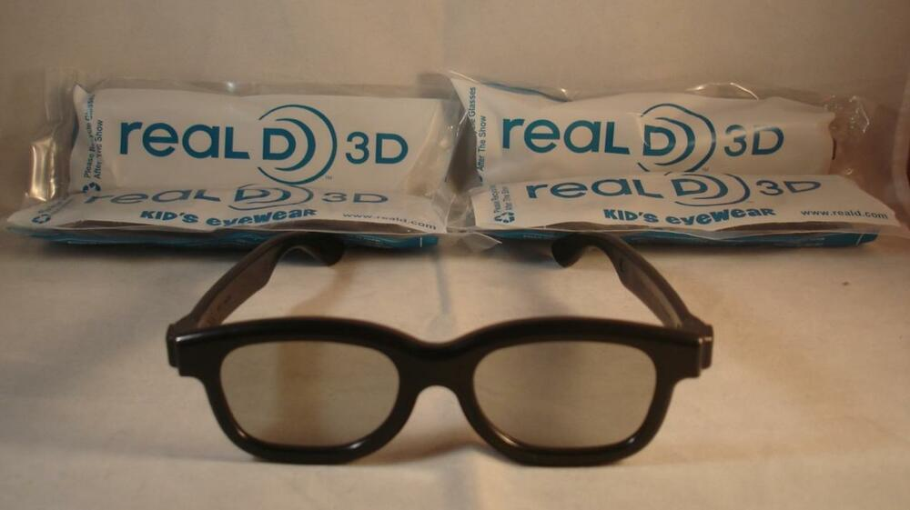 D Cinema Video Glasses