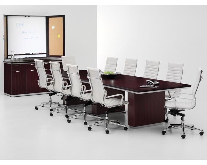 14' Rectangular Conference/Boardroom/Meeting Office Table | eBay