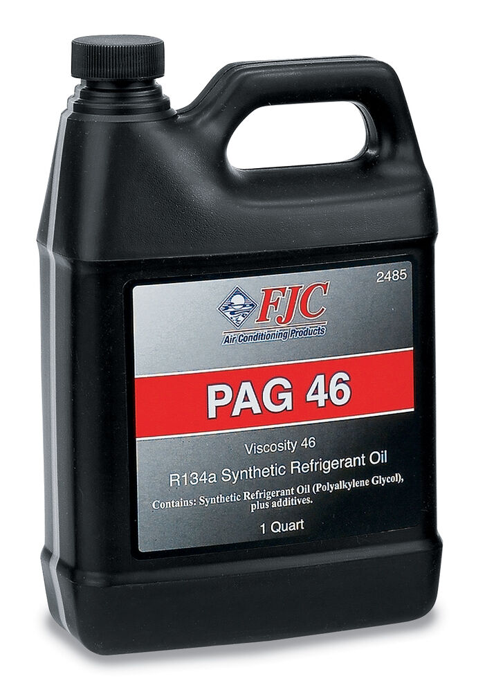 how to add pag oil to ac compressor