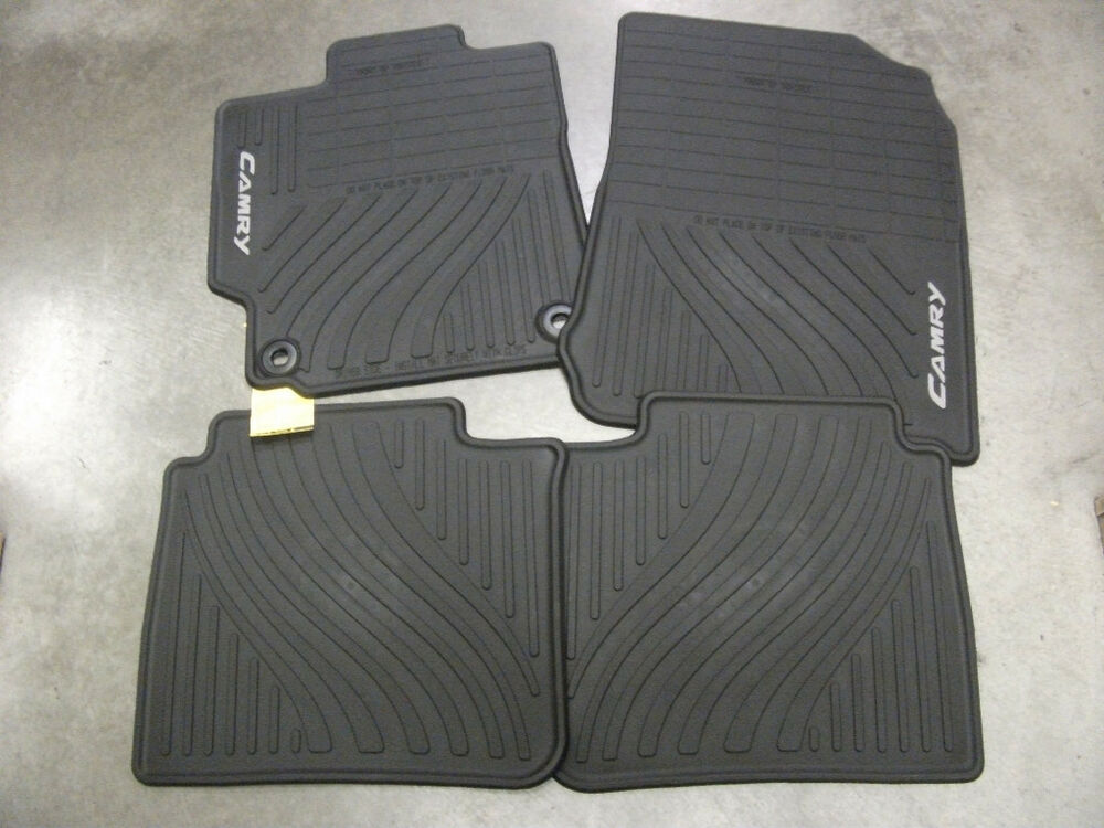 12 13 14 Toyota Camry All Weather Floor Mat Set Oem Pt908