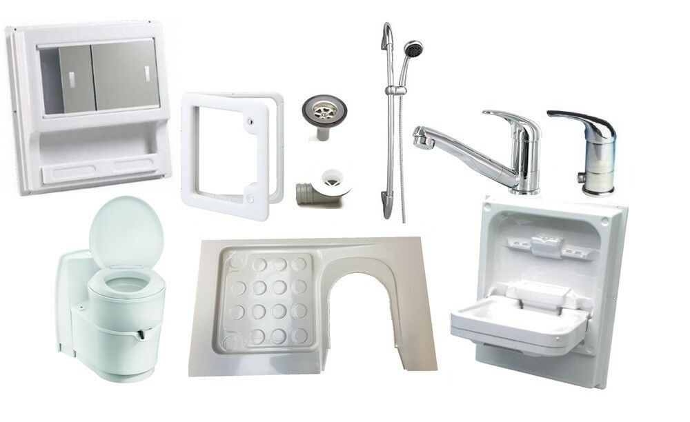 caravan motorhome magnum shower room kit a left hand