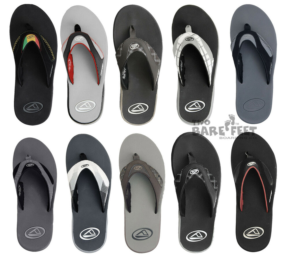 dc8947a8888b Reef Fanning Mens Flip Flops Sandals - Clearance Sale at Two Bare Feet